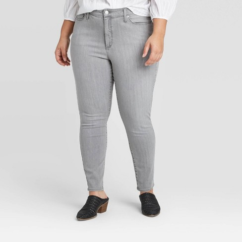 Size 20 Women/'s Plus Size Utility Skinny Jeans Universal Thread™ Olive