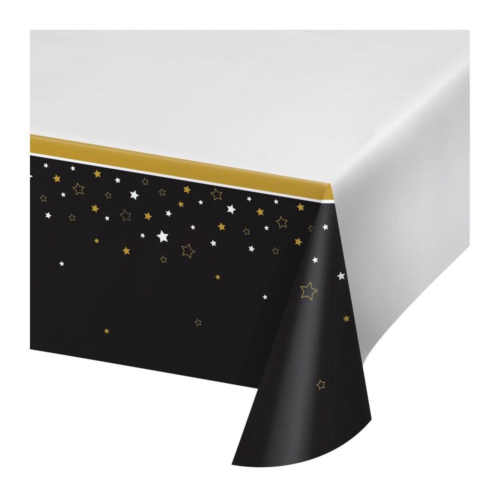 Image of 3ct Grad Adventure Plastic Tablecloths