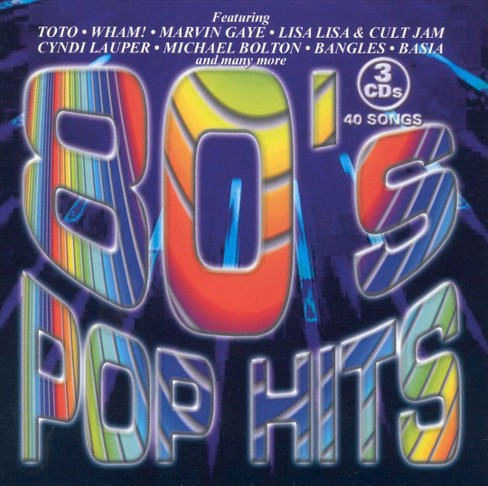 Various - 80's Pop Hits (CD) - image 1 of 2
