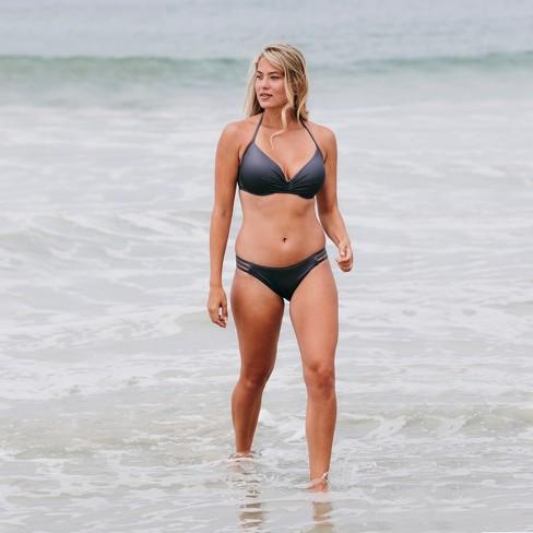 af600d3ac140f Women's Dream Lightly Lined Halter Bikini Top - Shade & Shore Purple Steel
