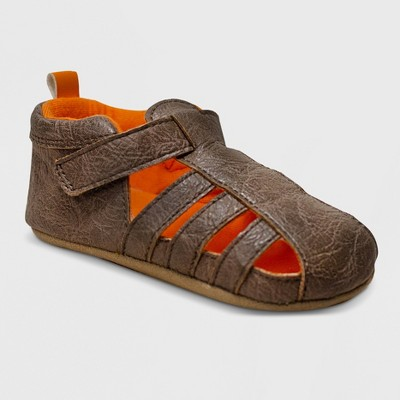Ro+Me by Robeez Baby Boys' Andrew Sandal Mini Shoes - Taupe 6-12M