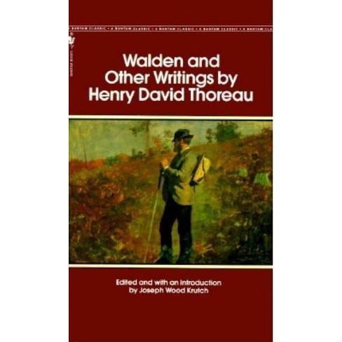 Walden and Other Writings - by  Henry David Thoreau (Paperback) - image 1 of 1