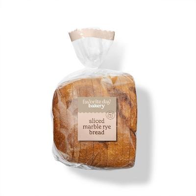 Sliced Marble Rye Bread - 17oz - Favorite Day™
