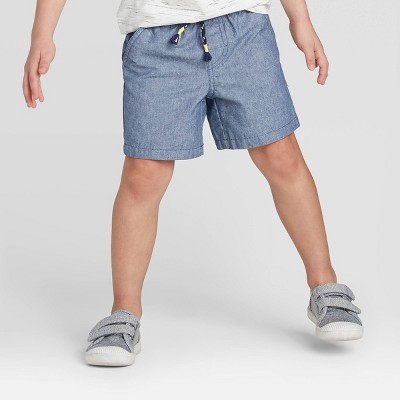 Toddler Boys' Pull-On Shorts - Cat & Jack™ Blue 2T