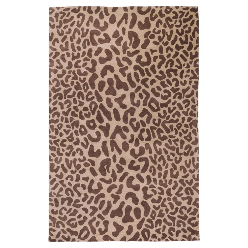 Bicauri Area Rug - Dark Brown, Camel - (9' x 12') - Surya