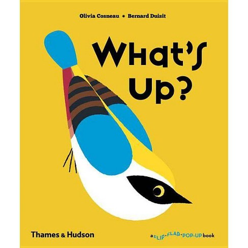 What's Up? - (Flip Flap Pop-Up) by  Olivia Cosneau & Bernard Duisit (Hardcover) - image 1 of 1