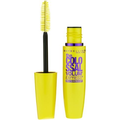 a10665528cf Maybelline Volum' Express The Colossal Waterproof Mascara 241 Classic Black  0.27 Fl Oz : Target