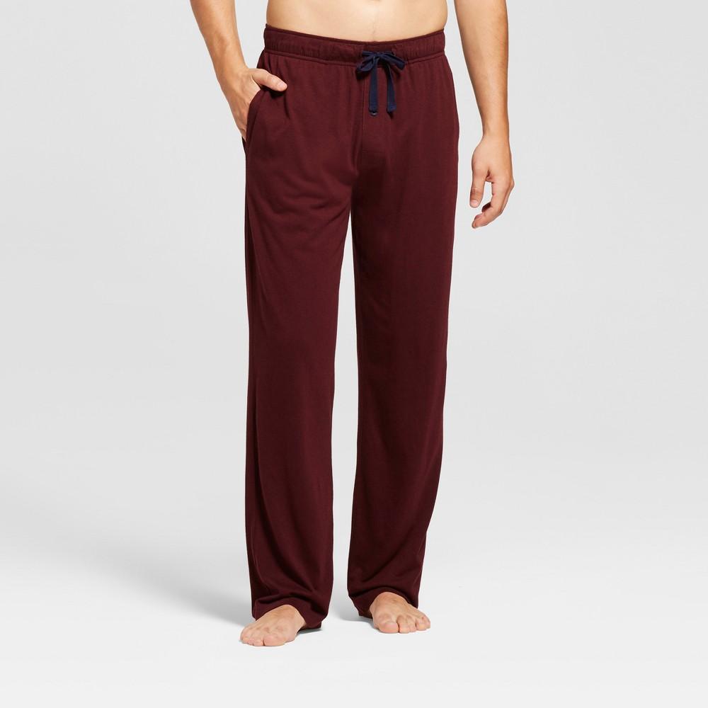 Men's Knit Pajama Pants - Goodfellow & Co Burgundy (Red) M