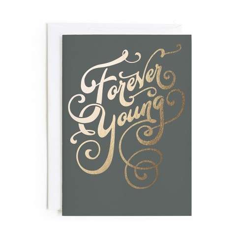 """""""Forever Young"""" Greeting Card - image 1 of 1"""