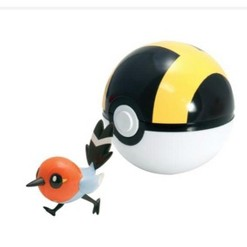 Pokemon Fletchling Clip & Carry Poke Ball Figure