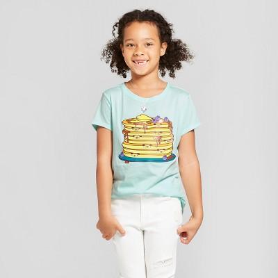 36e12f1d9 Girls Short Sleeve Panda Cakes Graphic T-Shirt – Cat & Jack™ Aqua XL ...