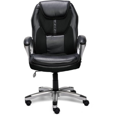 Executive Chair Black Mesh - Serta