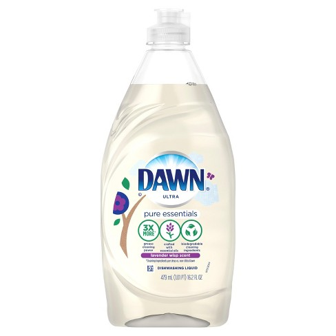 Dawn Ultra Pure Essential Lavender Liquid Dish Soap - 16.2oz - image 1 of 2