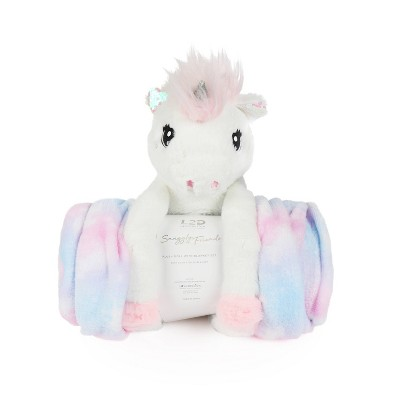 Unicorn Figural Throw and Decorative Pillow