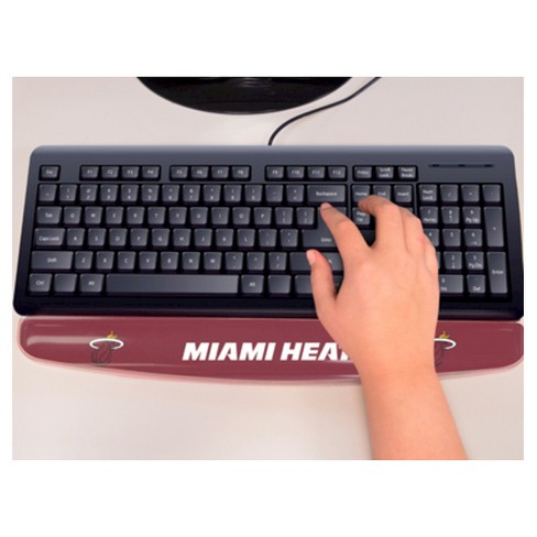 NBA® Fan Mats Gel Wrist Rest - Miami Heat - image 1 of 1