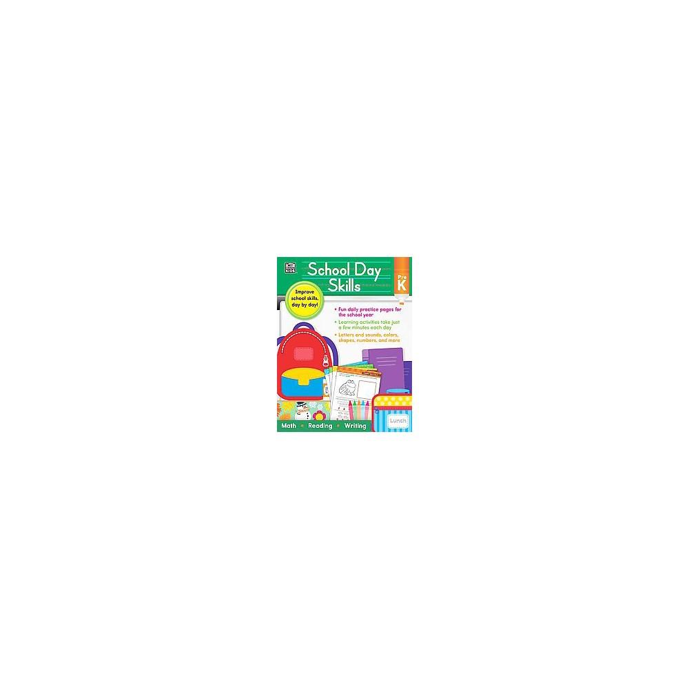 School Day Skills, Grade Pre K (Paperback) (Thinking Kids (Cor))