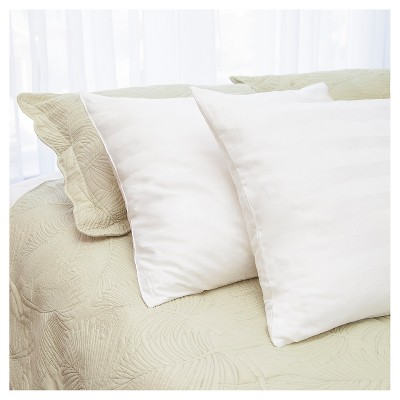 Cotton Bed Pillow Twin Pack (Standard 20 x26 )White - Natural Latex Plus®
