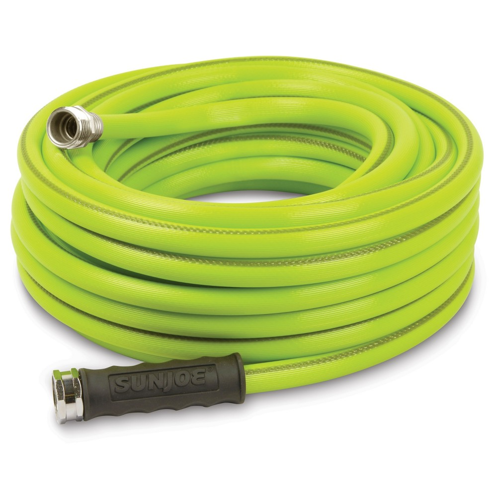 Sun Joe 1/2 Heavy Duty Garden Hose - 50' - Green