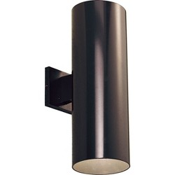 Progress Lighting P5642 Cylinder 2 Light Outdoor Wall Sconce