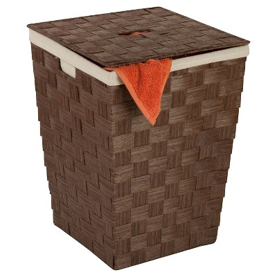Honey-Can-Do Paper Rope Hamper - Brown