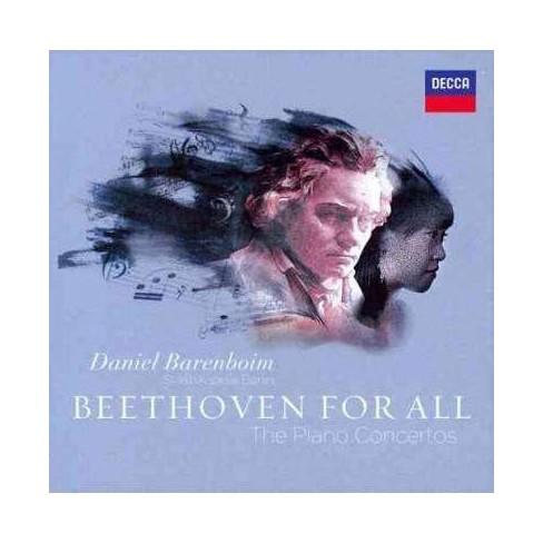 Daniel Barenboim - Beethoven For All: Piano Concertos (CD) - image 1 of 1