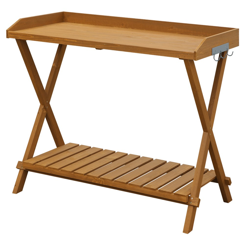 Potting Bench - Brown - Convenience