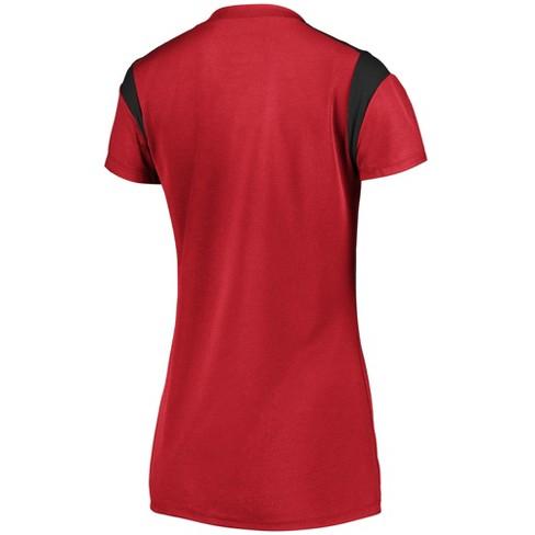 31c8bad55 Atlanta Falcons Women s Shimmer Top Fashion Top XL   Target