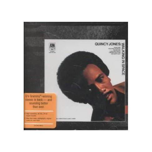Quincy Jones - Walking in Space (CD) - image 1 of 1