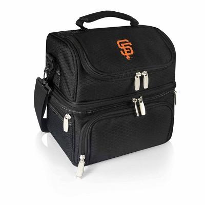 MLB San Francisco Giants Pranzo Dual Compartment Lunch Bag - Black
