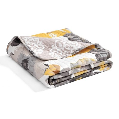 "50""x60"" Leah Throw Blanket - Lush Décor"