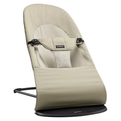 BABYBJÖRN Balance Soft Cotton Bouncer - Khaki/Beige