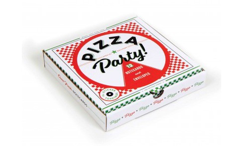 Pizza Party! : 12 Notecards and Envelopes (Stationery) - image 1 of 1