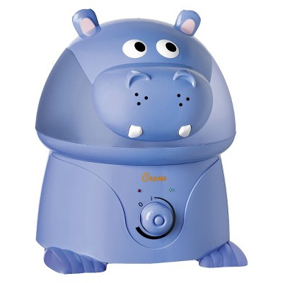 Crane Adorable Hippo Ultrasonic Cool Mist Humidifier - 1gal