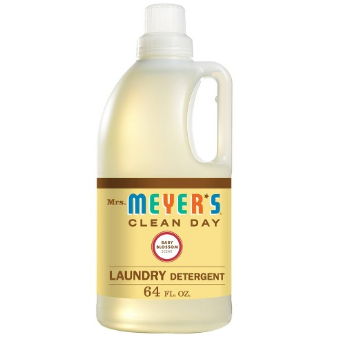 Mrs. Meyer's Baby Blossom Scented Laundry Detergent - 64 fl oz - image 1 of 4