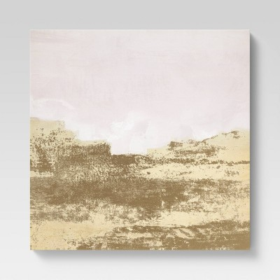"""24"""" x 30"""" Foil on Canvas Gold/Pink - Project 62™"""