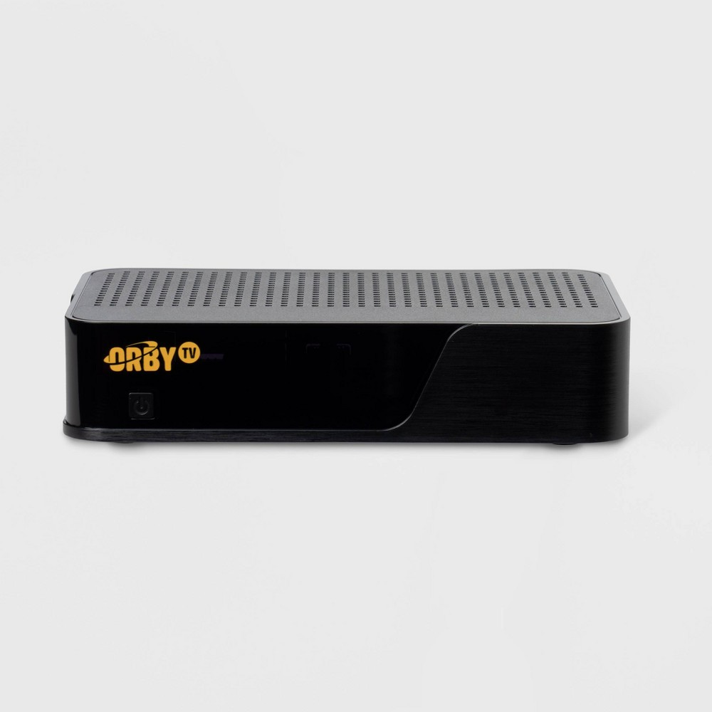 Orby TV Satellite Receiver Only Box - Black Orby TV is quality satellite TV with no contract or credit check, that puts you in control of what you spend each month. Our most popular package is just $40/month. with Orby TV, local channels are always on and always free, and no internet is required. - Since Orby TV is delivered by satellite, there's no buffering or drain on your internet. Color: Black.
