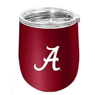 NCAA Alabama Crimson Tide 14oz Matte Stainless Steel Wine Tumbler