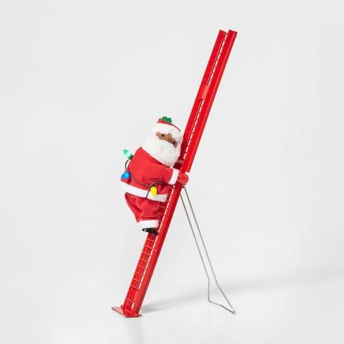 Small Climbing Santa Decorative Figurine - Wondershop™ - image 1 of 4