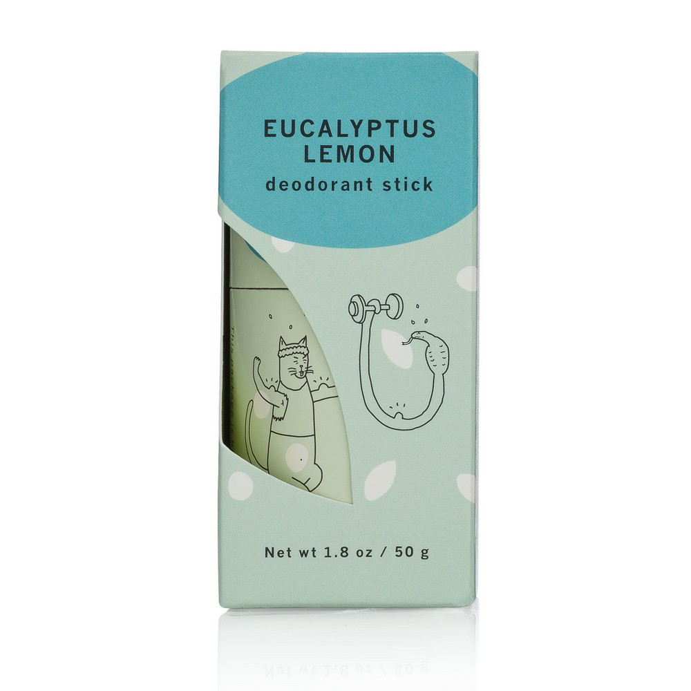 Image of Meow Meow Tweet Deodorant Stick - Eucalyptus Lemon - 1.8oz