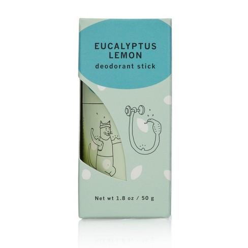 Meow Meow Tweet Deodorant Stick - Eucalyptus Lemon - 1 8oz