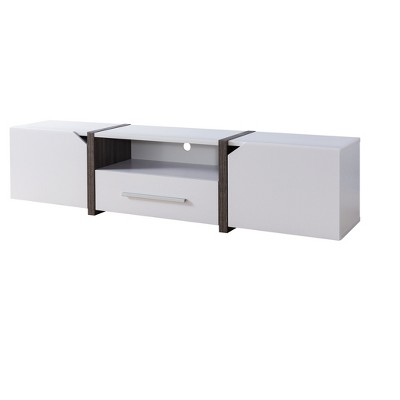 """81"""" Miran Contemporary TV Stand White - HOMES: Inside + Out"""