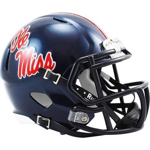 """NCAA Ole Miss Rebels 4.5""""x5"""" Speed Mini Helmet - image 1 of 1"""