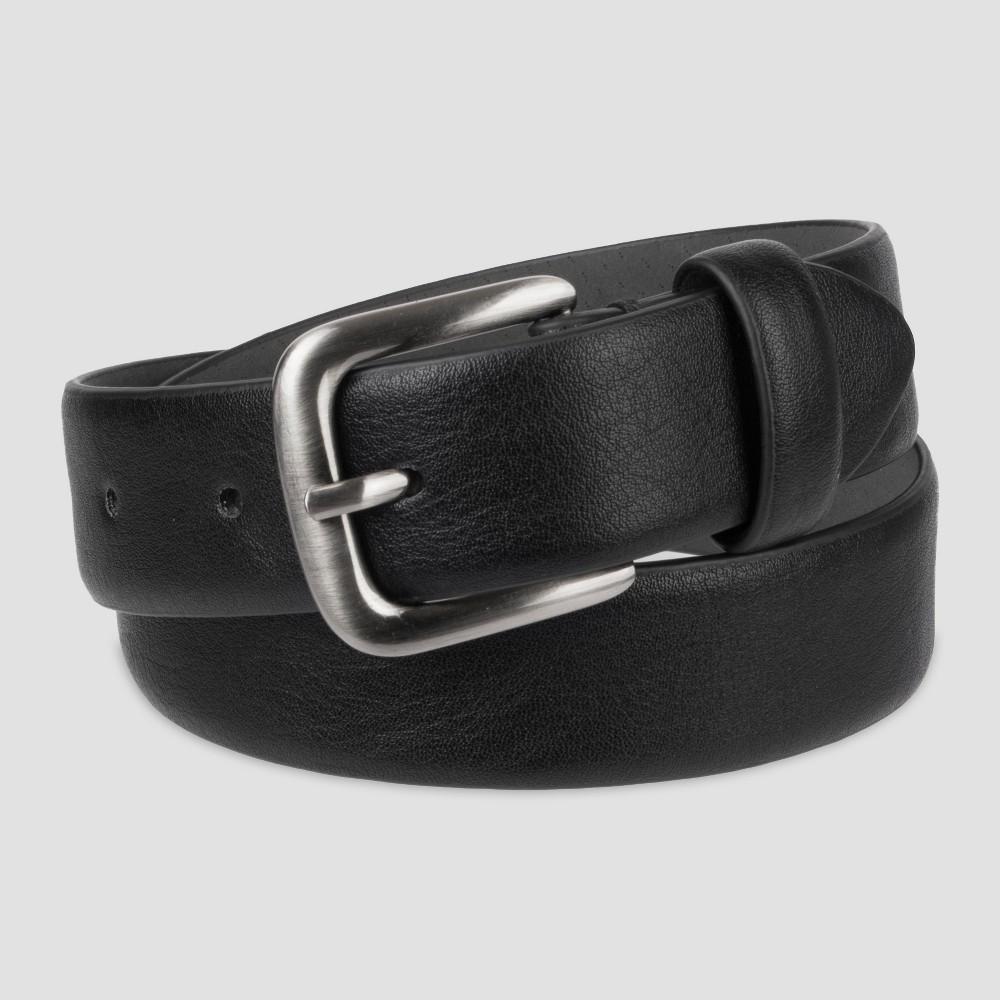 Image of Boys' Feather Edge Belt - Cat & Jack Black M, Boy's, Size: Medium