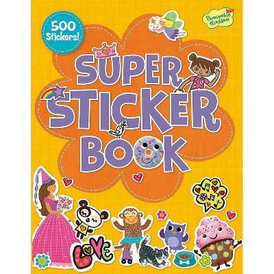 MindWare Girl Super Sticker Activity Book - Stickers - 500 Pieces