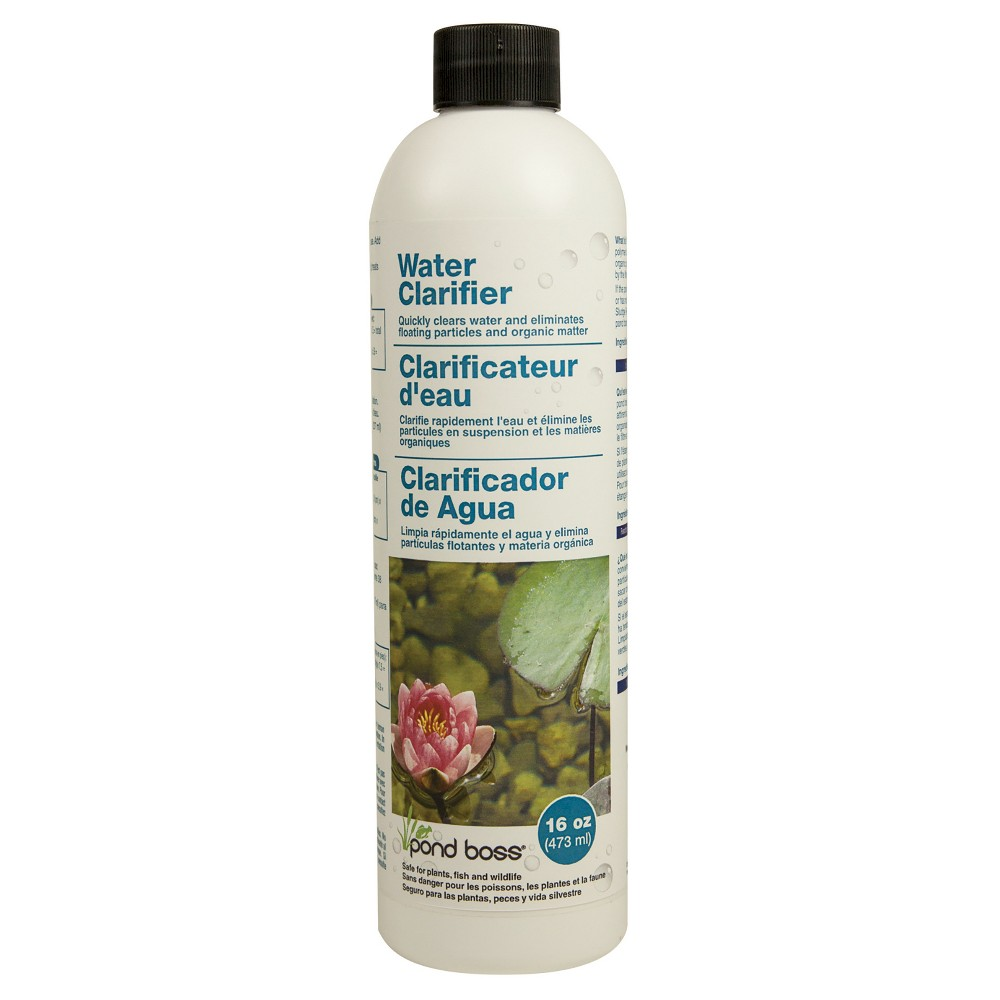 "Image of ""8.69"""" Pond Boss Water Clarifier - 16oz"""