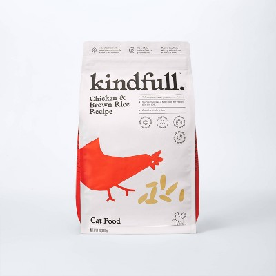 Chicken and Brown Rice Dry Cat Food - Kindfull™