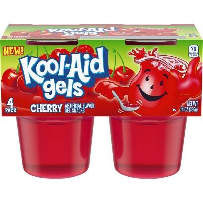 Kool-Aid Cherry Gelatin - 4pk/13.5oz