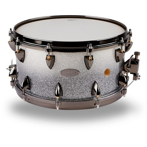 Orange County Drum & Percussion 25-Ply Maple Vented Snare Drum 14 x 7 in. Silver Sparkle Fade - image 1 of 4