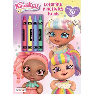 Kindi Kids Coloring Book With Crayons - Target Exclusive Edition : Target
