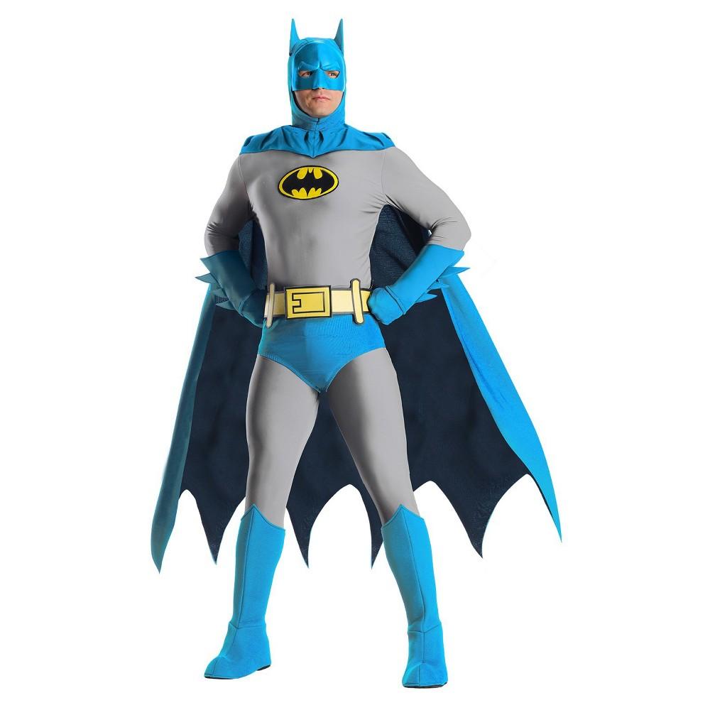 Image of Halloween Men's Batman Halloween Costume XL, MultiColored